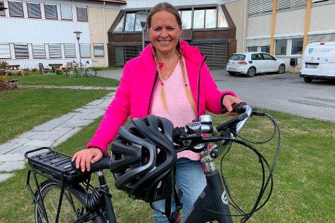 UTFORDRER: Klima- og miljørådgiver Inger Lise Willerud i Østre Toten utfordrer Gjøvik til konkurranse.