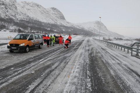 VIL ØKE FARTEN: Statens vegvesen mener at den nye E16 over Filefjell skal få økt maksfart fra 80 til 90 kilometer i timen. FOTO: INGVAR SKATTEBU