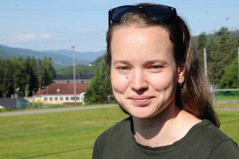 28 år gamle Ingvild Hjortnæs Larsen fra Dokka er nybakt leder i Innlandet friidrettskrets.