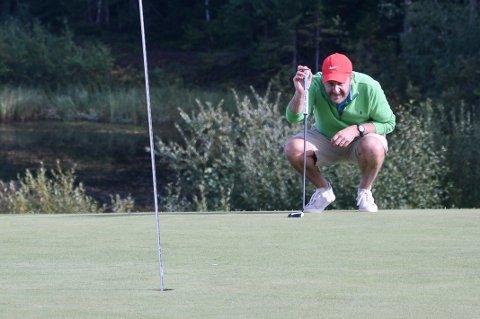 Even Heggernes er blitt hekta på golf igjen og snuste på en topp 3-plassering i Gjøvik Masters lørdag.