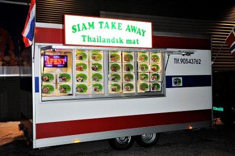 Tilbake på Hov: Matvogna Siam Take Away er tilbake på Hov og Fluberg for fullt igjen.