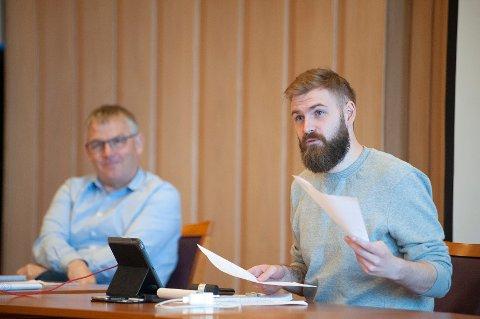 SER FREMOVER: Ordfører Stian Olafsen har god tro på at Vestre Toten kommune kommer seg ut av krisen i hjemmetjenesten.