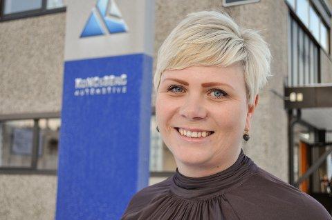 DIREKTØR: Linda Nyquist-Evenrud er toppsjef i Kongsberg Automotive, Raufoss Couplings, hvor hun har jobbet i ulike stillinger siden 2008. Her på bilde fra 2017, året hun tok steget opp til direktørstillingen.