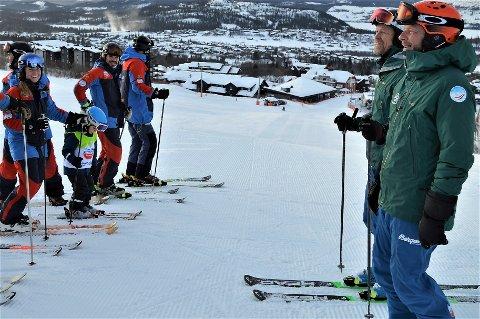 SKIFTE FOKUS: Skiskolen og aktivitetsselskapet har tidligere hatt 80 prosent utenlandske kunder. Nå gjør de en helomvending med støtte fra Innovasjon Norge. FOTO: TILSENDT