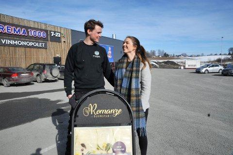 VELLYKKET: Maren Herberg fikk lønn for strevet da hun tok kontakt med Øyvind Gleditsch etter et oppslag i OA. Nå er de samboere.