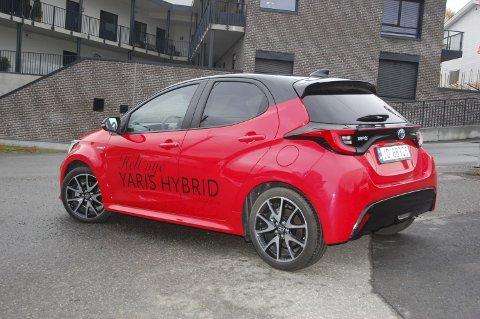 OVERRASKENDE: At japanske Toyota Yaris skulle bli «Åretrs bil i Europa», var ikke i tråd med forhåndstipsene.FOTO: ØYVIN SØRAA