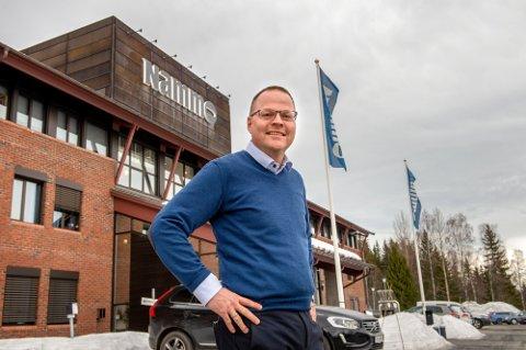 REKORDÅR: 2020 ble et historisk år for over som administrerende direktør Vegard Sande og Nammo.