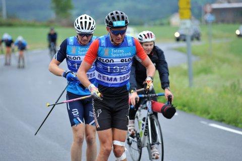 RASKEST: Marius Vesterås vant mennens 10 kilometer i Karidalen lørdag.