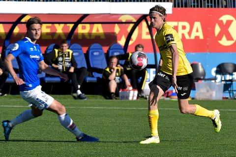 GOD KAMP: Nicolai Fosso Fremstad spilte godt som stopper i andre omgang.