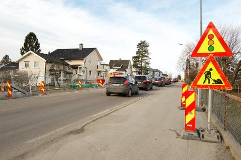 LITE: Follo-regionen får ikke mye i den nye handlingsplanen for 2016 - 2019 for Oslopakke tre.  Her et illustrasjonsbilde fra Nordbyveien. ARKIVFOTO: BJØRN V. SANDNESS