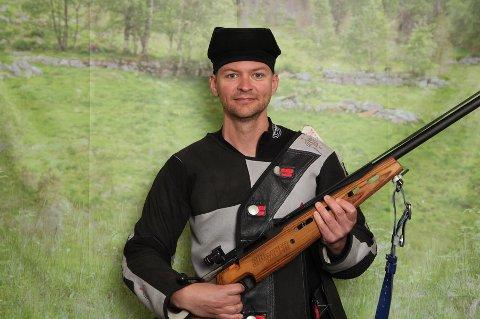 Gard Heiaas skjøt seg til stort beger på grovfelten.