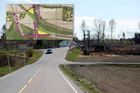 USTVEDT BRU: Arbeidet med å rive den gamle broen og bygge ny Ustvedt bru skal etter planen starte neste sommer. Ferdigstillelse er sommeren/høsten 2019.