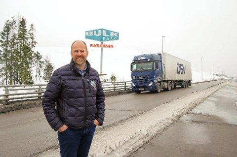 FYLT OPP: Når de siste byggene på Fugleåsen kommer opp, er det fullt på næringsområdet på Langhus, konstaterer Bulk-sjef Peder Nærbø.