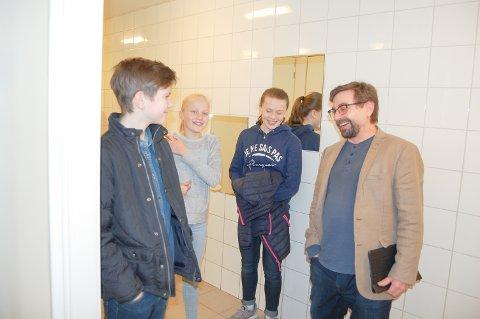 SKI SKOLE: elevråd pluss Bård Hogstad