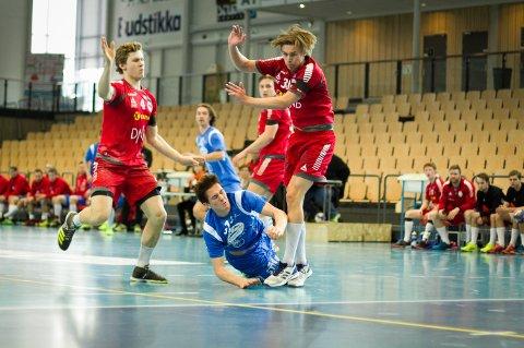 Benjamin Hallgren og Follo HK lå under med fem mål til pause i Nadderud Arena