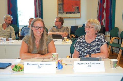GENERASJON TRE OG FIRE: Rannveig Kvifte Andresen ble mormor igjen, Inger-Lise Kvifte Andresen oldemor da Ronja Andresen fikk en datter for fire uker siden.