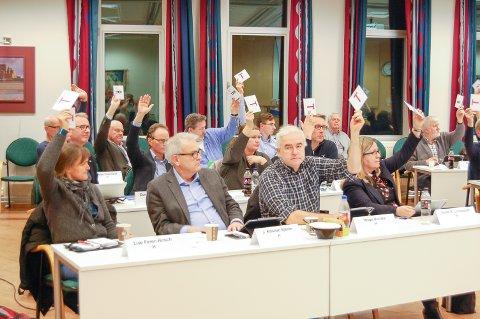 I MINDRETALL: I kommunestyret i Ski sitter det 41 folkevalgte. 17 av dem stemte imot å innarbeide et stupetårn på ti meter, og ikke bare sju, i planene for svømmehallen på Langhus.
