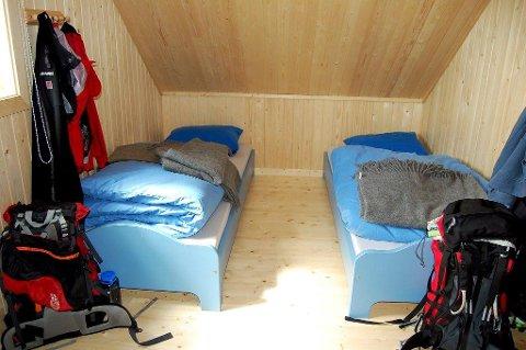 PLASS til 17: Bøvelstad kan by på sengeplass til 17 overnattingsgjester.