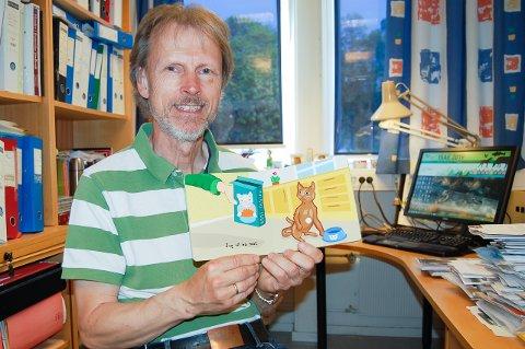 JEG VIL HA: Lang a i mjau markerer et krav fra katten, forklarer NMBU-professor Bjarne O. Braastad.