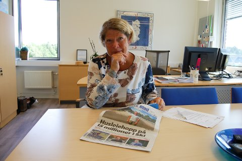 GOD DIALOG: Rådmann Jane Short Aurlien i Ski oppfatter at kommunen har en god dialog med Akershus fylkeskommune om den nye videregående skolen i Ski sentrum.