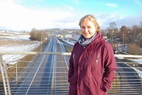 FØLGER SKJEMA: Prosjektleder Anne-Grethe Nordahl mener Statens vegvesen vil klare å følge den opprinnelige fremdriftsplanen for ny E18 gjennom Follo.
