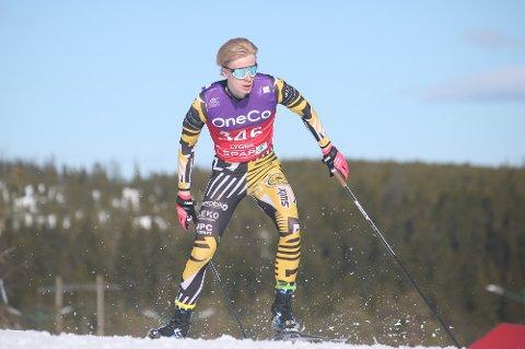 AV DE BESTE: Oppegård ILs Fredrik Glomsrud Stenersen hevder seg blant de beste juniorene i landet på ski.