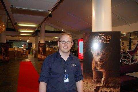 Alexander Dalen (30) gleder seg til årets kinosommer.