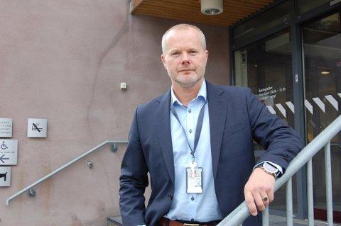 ORIENTERER: Avdelingsdirektør Frode Børstad i Statens vegvesen.