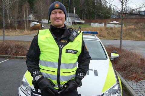 UP-leder i Follo, Rune Dahl, er stadig å se på veiene i distriktet. Denne uken varsles det om hyppige ruskontroller.