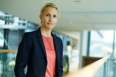 OVERRASKET: Adm. direktør Randi Marjamaa i Nordea Liv var ikke klar over at det var så store pensjonsforskjeller mellom kvinner og menn.