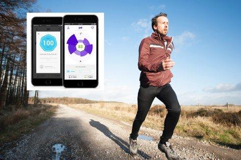 Klarer du 100 PAI?: Forskere fra NTNU har utviklet en algoritme som skal gjøre det enklere å holde seg i form. Fra neste år vil den bli tilgjengelig for alle.