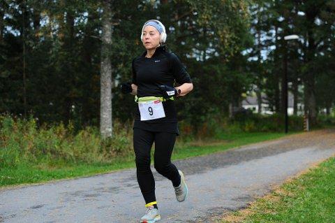 I FORM: Heidi Gundersen imponerte da hun løp hele 163 kilometer i sitt aller første 24-timersløp. Det er en distanse som tilsvarer nesten fire helmaratonløp.