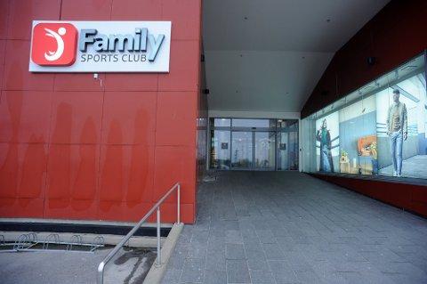 STENGT: Family Sports Club Ski har nå stengt dørene.