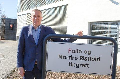 NY TINGRETT, NY SORENSKRIVER: Rune Nordby (49) er innsatt som sorenskriver i Follo og Nordre Østfold, som er operativ fra mandag 26. april.