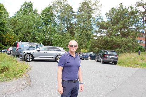 I STARTGROPA: Daglig leder Atle Andresen i Vardåsen Bolig er klar til å sette i gang detaljreguleringen, men Nordre Follo har ikke kapasitet til å etablere teknisk infrastruktur.