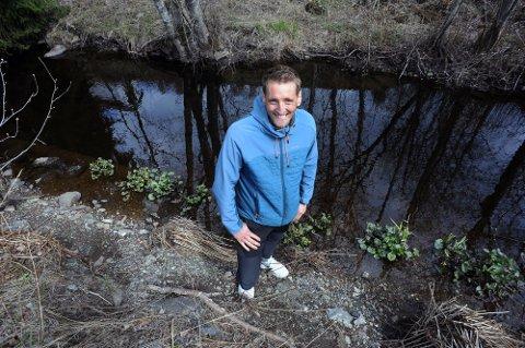 ILDSJEL: Anders Baumberger er en av tre nominerte fra hele landet til Friluftslivets ildsjelpris.