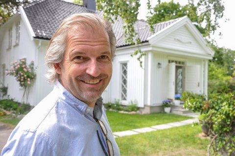 NY SJEF PÅ PLASS: Ivar Neteland (53) er den nye direktøren ved Ramme Fjordhotell.