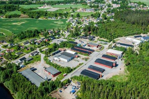 Svarstad Sogn Industriområde i Hagaveien