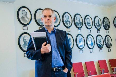 Erik Andreas Sørensen, Lardal Tverrpolitiske Liste. Foto: Lasse Nordheim