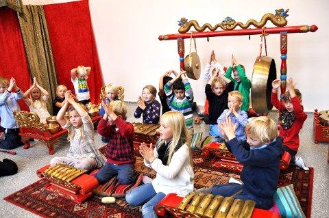 MUSIKK: Barnas Verdensdag er mye rart og mye morsomt og mye å prøve.