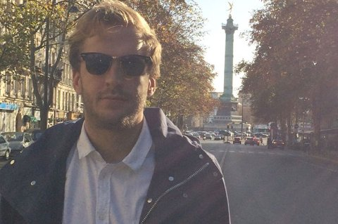 Ole Christian Røed i Paris søndag