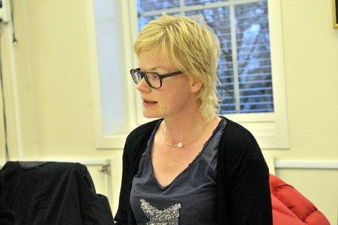 Nei-leder? Venstres Magdalena Lindtvedt kan bli valgets store vinner i Lardal - om nei-vinden blåser sterkt nok.