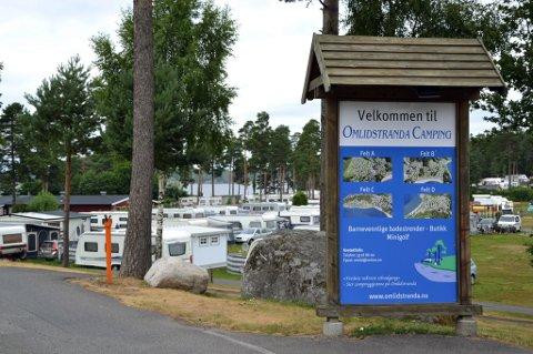 VIL UTVIDE: Omlidstranda camping er mye besøkt. Nå har man startet planleggingen om utvidelse.
