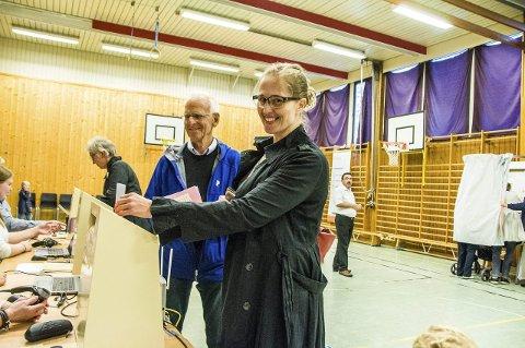 Brukte stemmeretten: Lindis Brekke-Christensen.