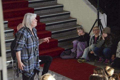 Kulturprisen: Kari Brekke Nilsen tildeles kommunens Kulturpris for sitt barne- og ungdomsarbeid gjennom mange år.arkivfoto: Elisabeth Løsnæs