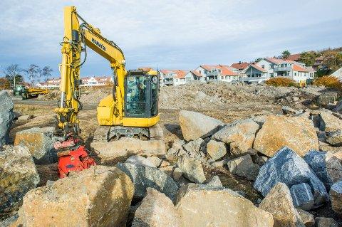 Krogshavn Holding planlegger å bygge et maritimt senter på den drøyt fire dekar store tomta i Steinrevet 20