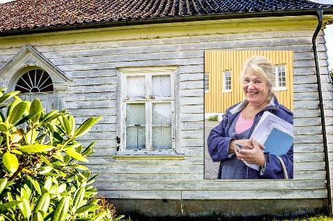 Dyveke Bast er leder for interimsstyret i venneforeningen for Gumserød gård.