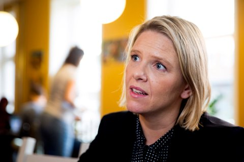 FÅ SØKERE: Innvandrings- og integreringsminister Sylvi Listhaug (Frp) har fått få søkere til sine elitemottak for asylsøkere.