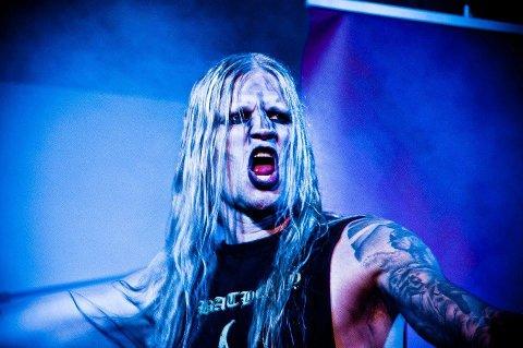 Spellemann: Per-Joar Spydevold, vokalist og frontfigur i Kampfar, er bosatt i Larvik.