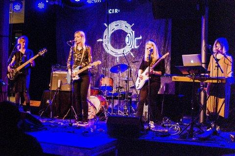 Circuit: Anne Marte Espeseth (f.v.), Therese Lunde, Heidi Elaine Follett og Hanne Østerhus Jungreuthmayer.